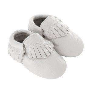 Other - Baby Boutique White Fringe Moccasins